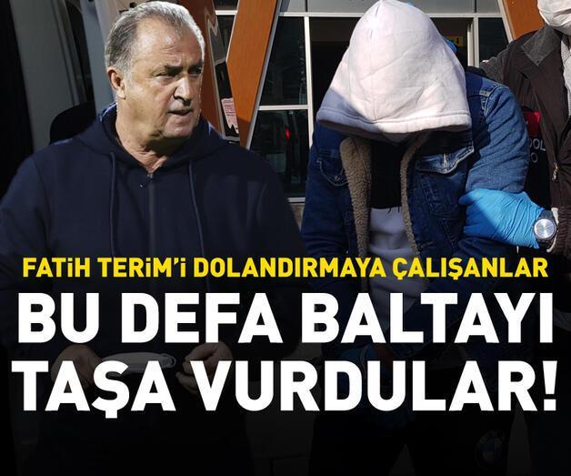 Son dakika: Fatih Terim'i dolandırmaya çalışanlar polisten kaçamadı