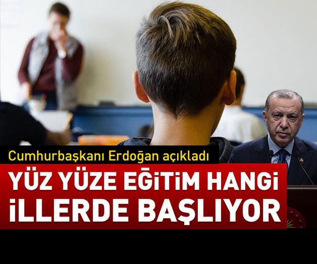 Son dakika: Cumhurbaşkanı Erdoğan açıkladı