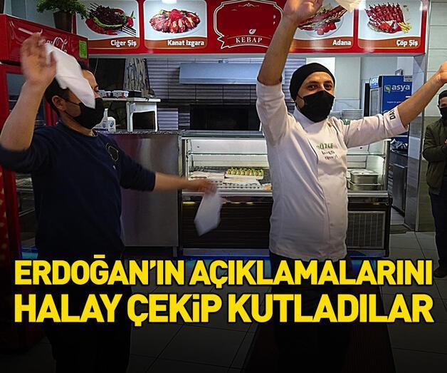 Son dakika: Erdoğan'ın açıklamalarını halay çekip kutladılar
