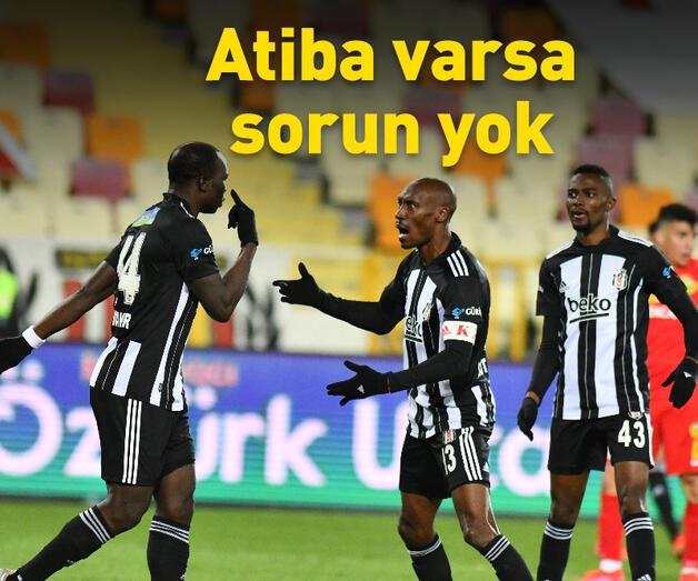 Son dakika: Beşiktaş'ta Atiba varsa sorun yok