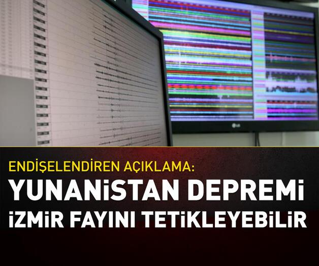 Son dakika: Prof. Dr. Hasan Sözbilir: Yunanistan depremi İzmir faylarını tetikleyebilir