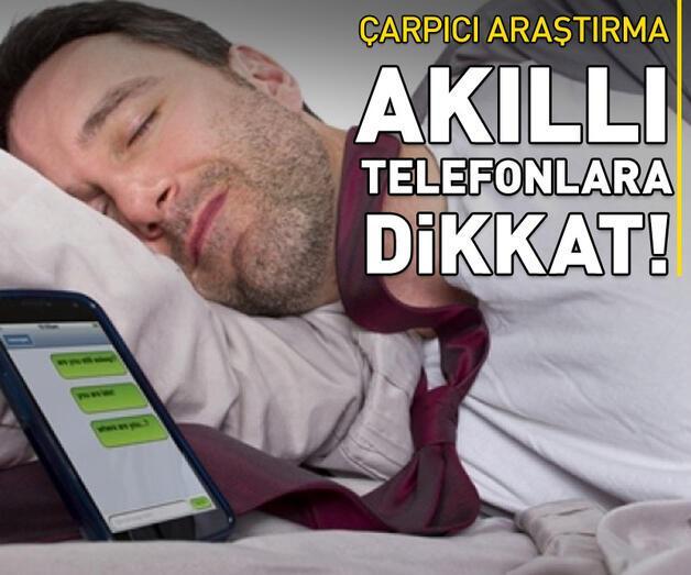 """Son dakika: """"Akıllı telefon bağımlılığı"""" uyku düzenini etkiliyor"""