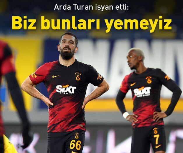 Son dakika: Arda Turan'dan hakem isyanı