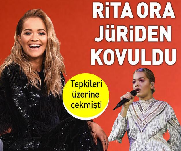 Son dakika: Rita Ora'nın jürilikten kovulduğu iddia edildi