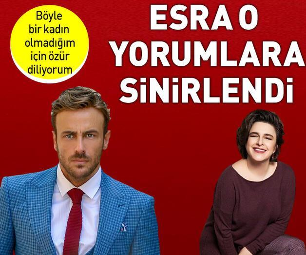 Son dakika: Esra Dermancıoğlu o yorumlara sinirlendi: Böyle bir kadın olmadığım için özür diliyorum