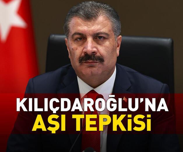 Son dakika: Bakan Koca'dan Kılıçdaroğlu'na aşı tepkisi