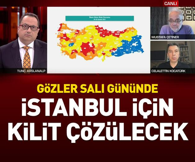 Son dakika: Gözler salı gününde! İstanbul için kilit çözülecek