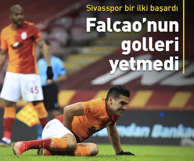 Son dakika: Falcao'nun golleri Galatasaray'a yetmedi