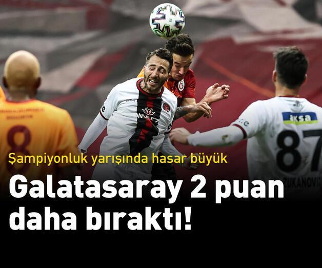 Son dakika: Galatasaray'da hasar büyük!