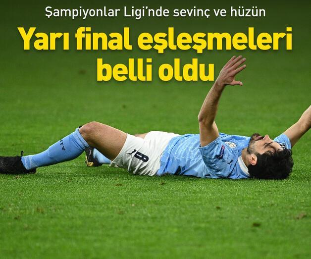 Son dakika: Şampiyonlar Ligi'nde yarı final eşleşmeleri belli oldu