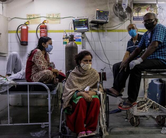 Son dakika: Hindistan'da vahim tablo: Tek yatakta iki hasta