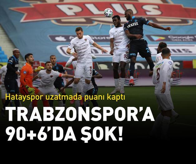 Son dakika: Trabzonspor'a 90+6'da şok!