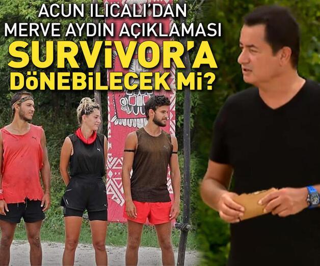 Son dakika: Merve Aydın, Survivor'a dönebilecek mi?