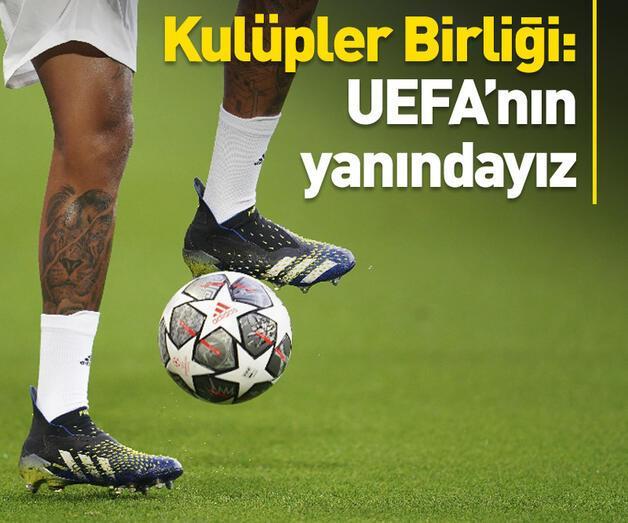 Son dakika: Kulüpler Birliği: Avrupa Süper Ligi'ne karşıyız
