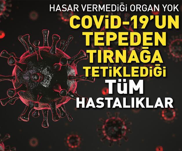Son dakika: Kalp, beyin, akciğer... Covid-19'un tepeden tırnağa tetiklediği tüm hastalıklar