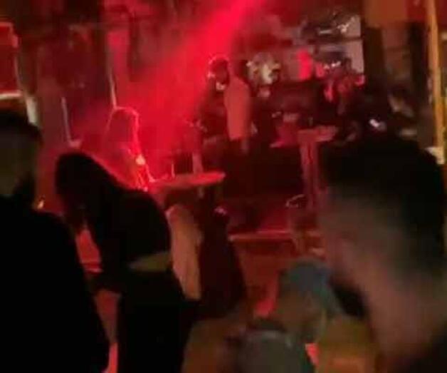 Son dakika: Kısıtlamada gece kulübüne çevrilen lokantaya polis baskını