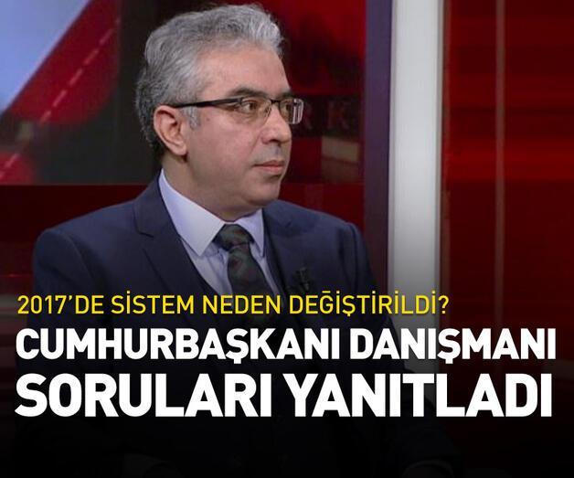 Cumhurbaşkanı Danışmanı Uçum, CNN TÜRK'te