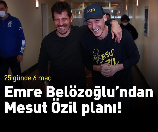 Son dakika: Emre Belözoğlu'ndan Mesut Özil planı!
