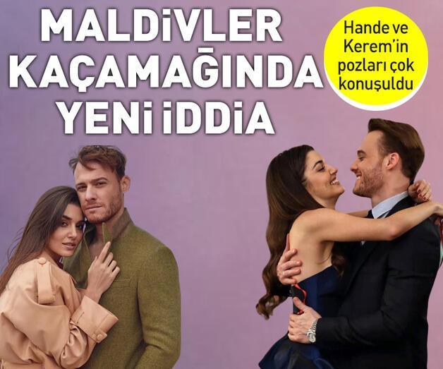 Son dakika: Hande Erçel-Kerem Bürsin'in tatili hakkında flaş iddia