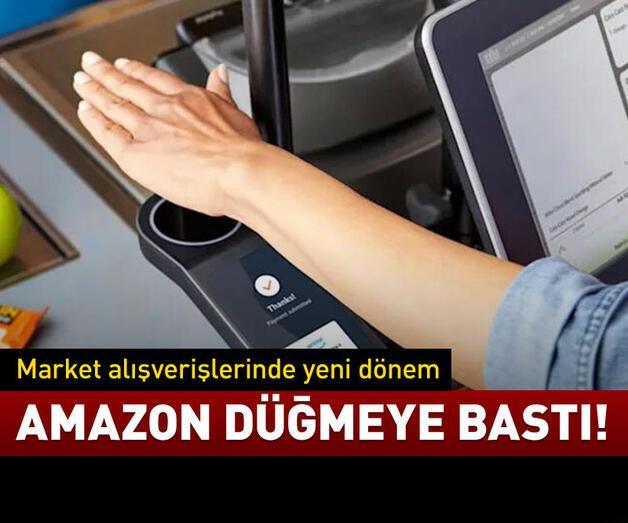 Son dakika: Amazon düğmeye bastı!