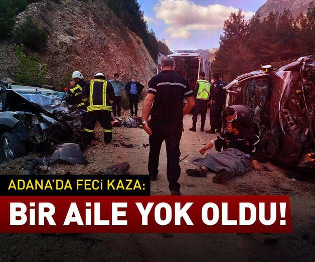 Son dakika: Adana'da feci kaza: Bir aile yok oldu
