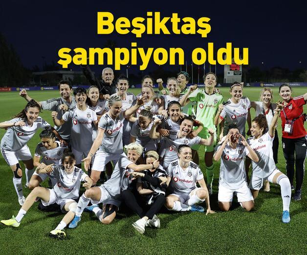 Son dakika: Şampiyon Beşiktaş oldu