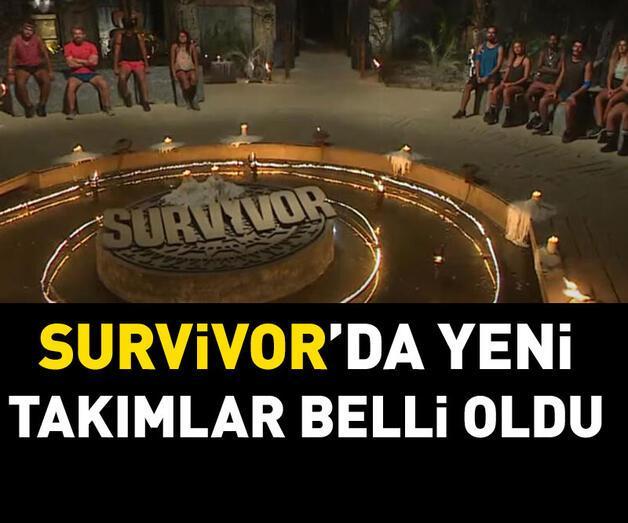 Son dakika: Survivor 2021 yeni takımlar belli oldu!