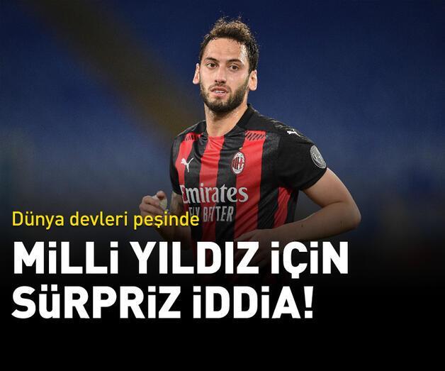Son dakika: Hakan Çalhanoğlu için sürpriz iddia!