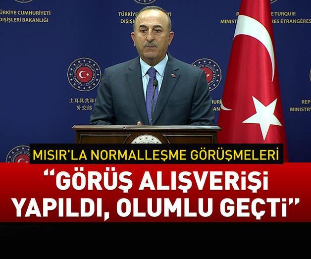 Son dakika: Bakan Çavuşoğlu'ndan, Filistinli mevkidaşı ile ortak açıklama
