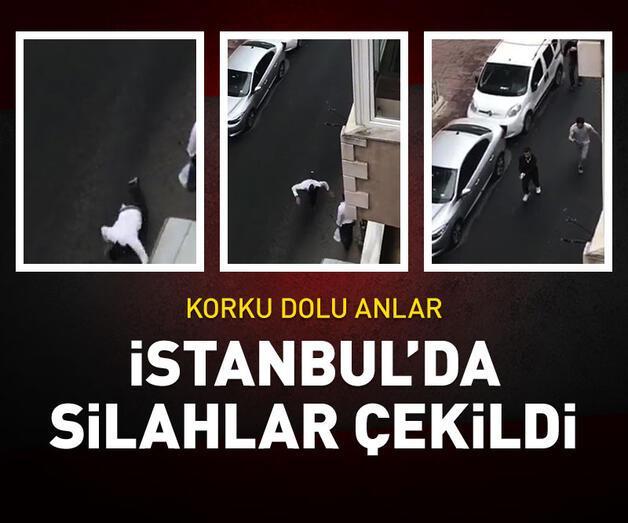 Son dakika: İstanbul'da silahlar çekildi