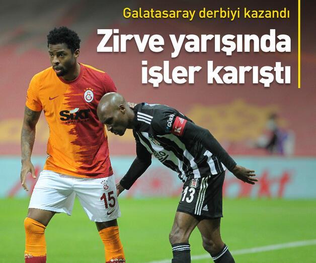 Son dakika: Galatasaray ikili averajı eşitledi