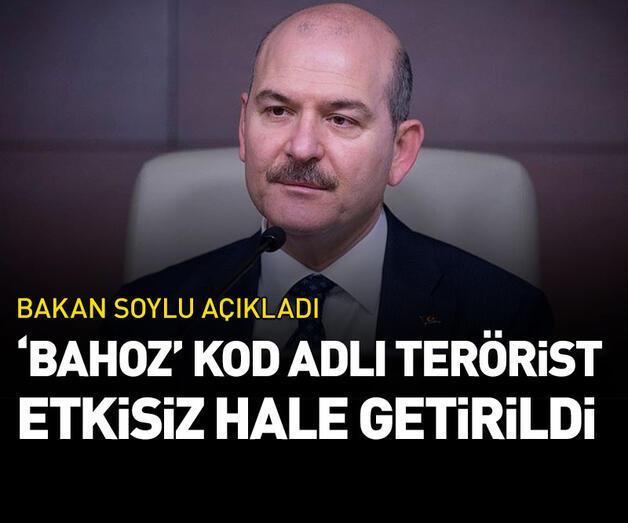 Son dakika: 'Bahoz' kod adlı terörist etkisiz hale getirildi