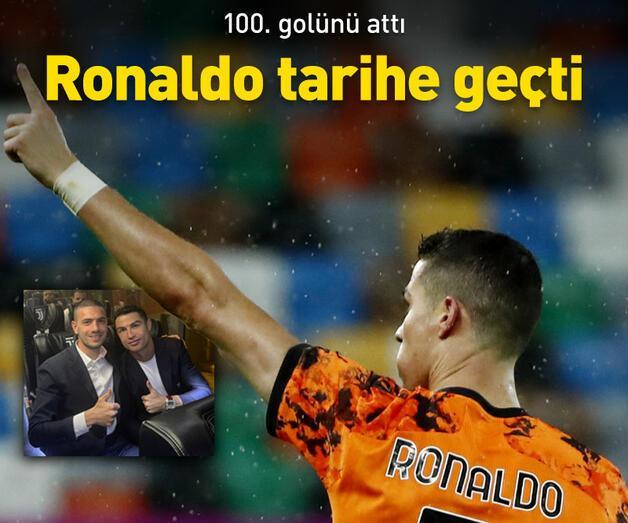 Son dakika: Ronaldo'dan 100 gol rekoru