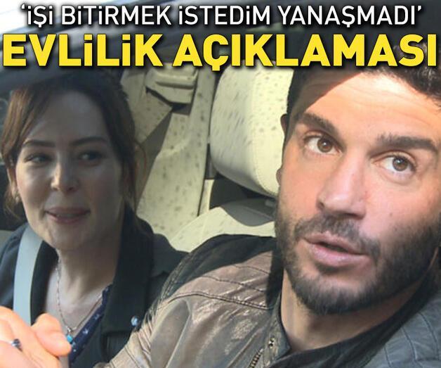 Son dakika: Berk Oktay-Yıldız Çağrı Atiksoy çiftinden evlilik açıklaması