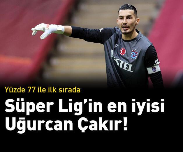 Son dakika: Süper Lig'in en iyisi Uğurcan Çakır