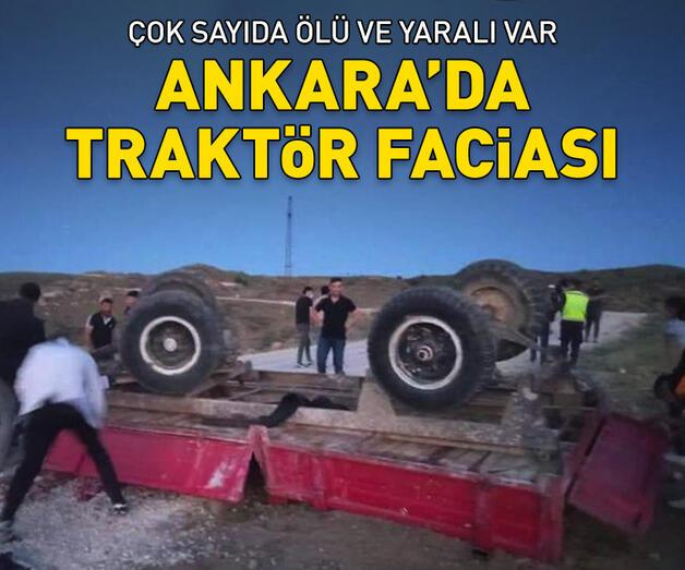 Son dakika: Ankara'da korkunç kaza! Ölü ve yaralılar var
