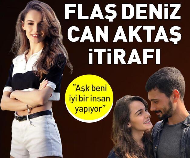 Son dakika: Hafsanur Sancaktutan'dan flaşDeniz Can Aktaşitirafı!
