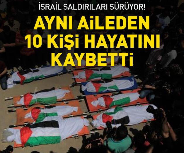 Son dakika: Aynı aileden 10 kişi hayatını kaybetti