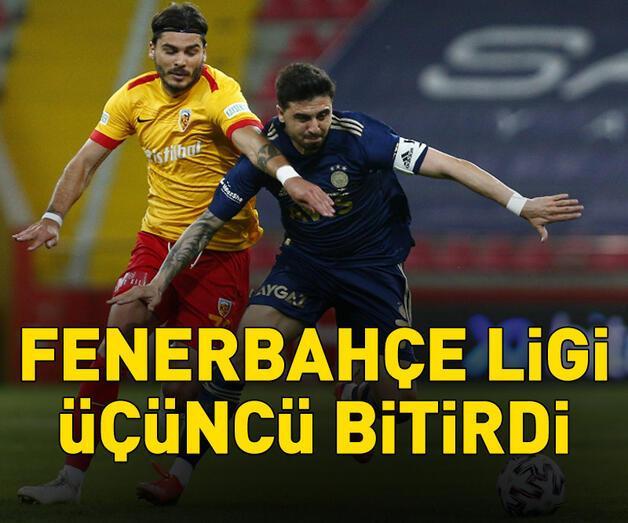 Son dakika: Fenerbahçe ligi üçüncü bitirdi
