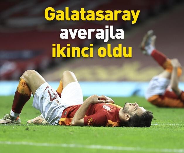 Son dakika: Galatasaray averajla şampiyonluğu kaybetti