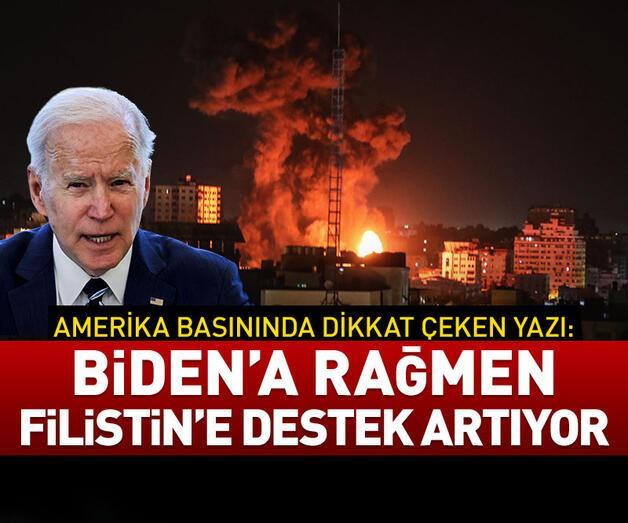 Son dakika: ABD'de Biden'a rağmen Filistin'e destek artıyor