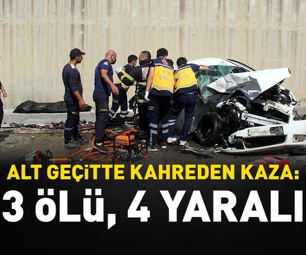 Son dakika: Hatay'da trafik kazası: 3 ölü, 4 yaralı