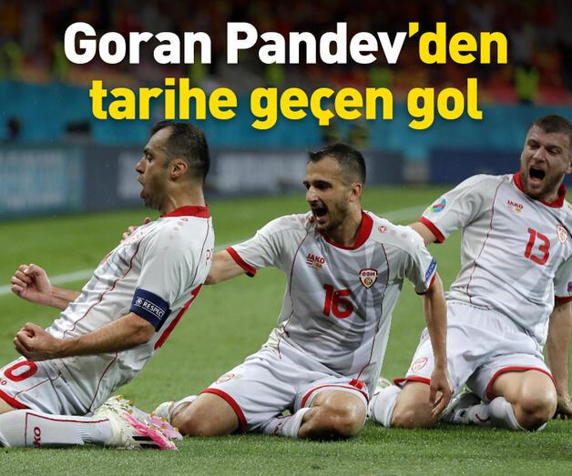 Son dakika: Pandev futbol tarihine geçti