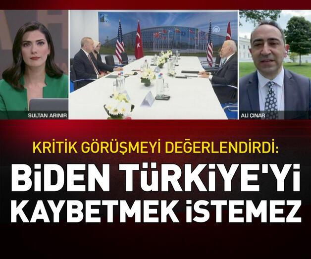 Son dakika: Biden, Türkiye'yi kaybetmek istemez