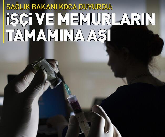 Son dakika: SGK kayıtlı tüm çalışanlar aşı olabilecek