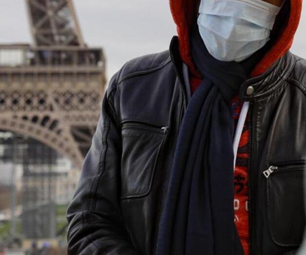 Son dakika: Fransa'da son 24 saatte 3 bin 235 Kovid-19 vakası görüldü