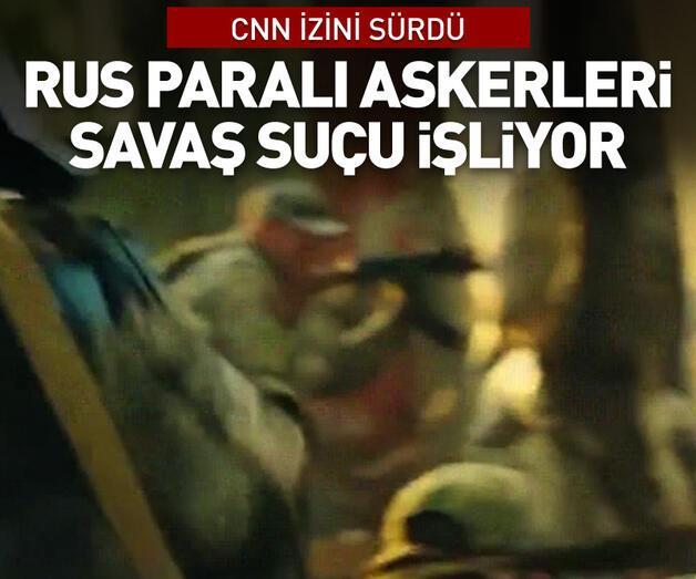 Son dakika: CNN Rus paralı askerlerin savaş suçu izini sürdü