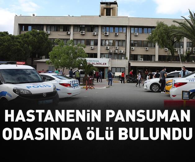 Son dakika: Sağlık memuru hastanedeki pansuman odasında ölü bulundu