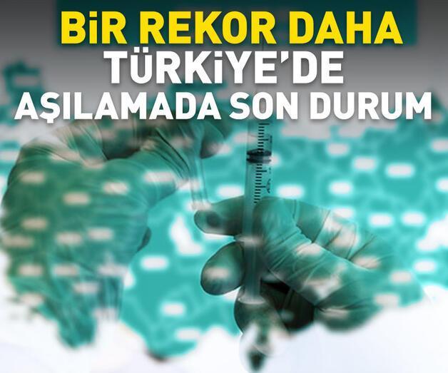 Son dakika: Türkiye'de aşılamada son durum