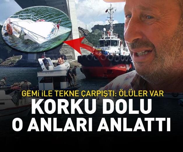 Son dakika: Balıkçı teknesine gemi çarptı: Ölüler var
